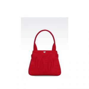 Armani Jeans SHOPPING BAG ROSSO
